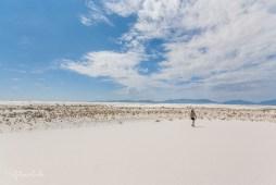 Spaziergang im Tularosa Basin