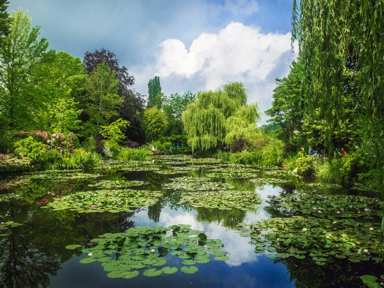 Monets Garten in Giverny (Quelle: Pixabay)