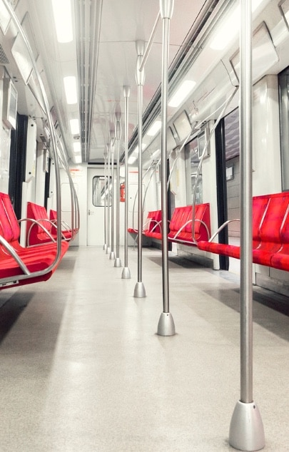 Metropolitan Train travel is easy and affordable and contributes to sustainable tourism
