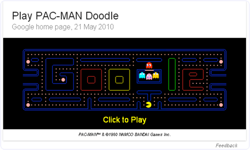 Google Pack-man