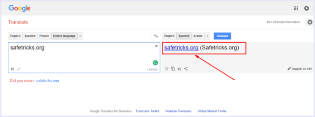 google translate proxy