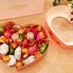 ハートの中に気持ちを込めて♡ GODIVAさん ラッピングチョコレート トリュフ アソート(20粒)