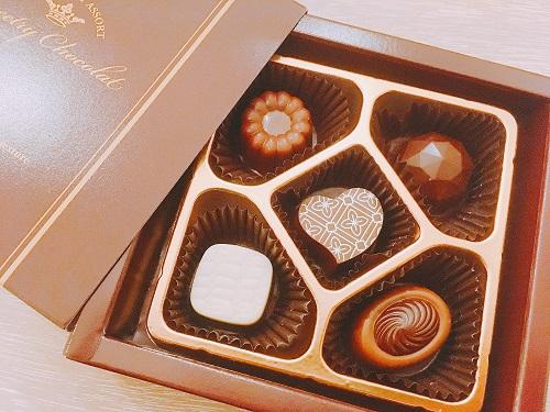 芥川製菓のショコラアソート商品写真
