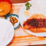 あっ!そうだ今日は「肉」にしよう♬三福亭さんのトンカツ定食