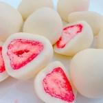 苺の酸味とホワイトチョコの甘さがBerry good!神戸フランツさんの神戸苺トリュフ♡