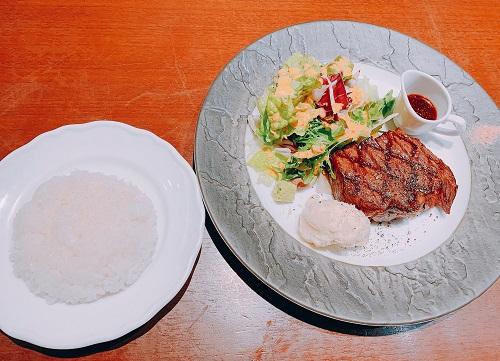 格之進Fの熟成肉ステーキ150gセット