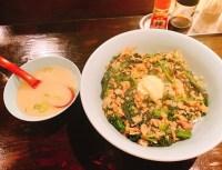 くりやんのポパイ丼とスープ
