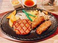 Pauhana(パウハナ)鴻池店のステーキ&ハンバーグコンボ