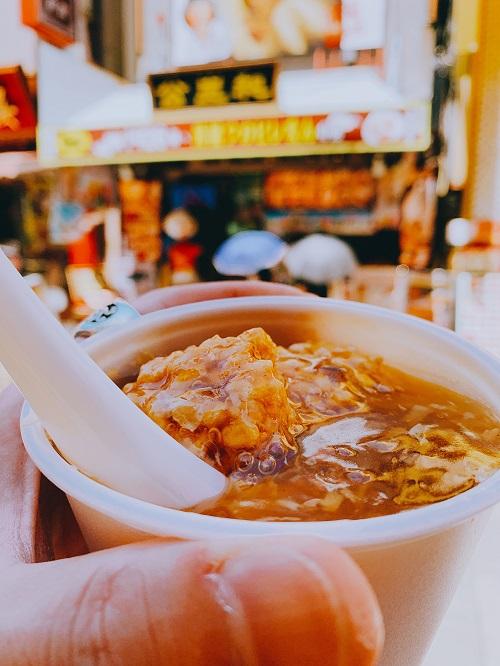 中華街 公生和の黄金ふかひれスープ