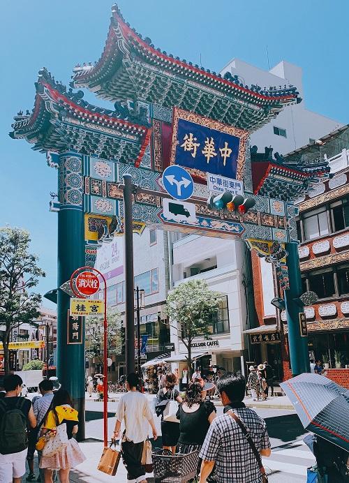 横浜中華街の入口