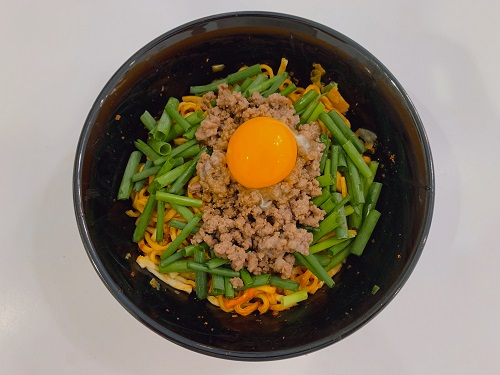 蒙古タンメン中本の辛旨焼きそばのアレンジ