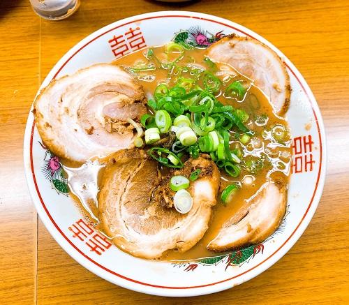 ラーメン東大 応神店のチャーシュー麺
