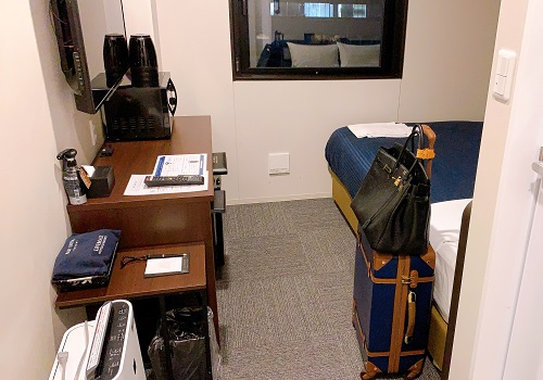 ホテルリブマックス岡山WESTの客室