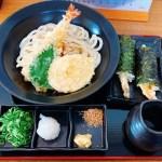 えび天が美味すぎる!竹内製麵所さんの天ぷらぶっかけうどん&天むす♬