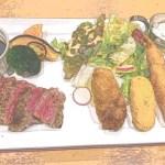 一つ一つのクオリティーが高い!西櫻亭さんの和牛ステーキと牡蠣&海老フライ&蟹クリームコロッケ♡<前編>