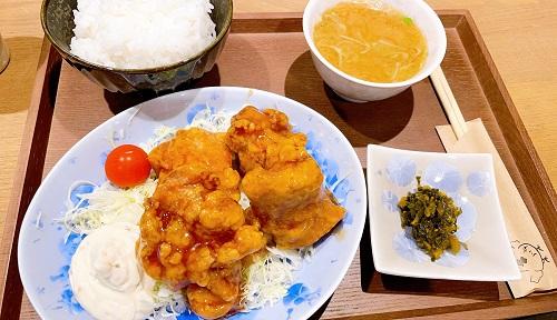 川安 高槻店のチキン南蛮定食