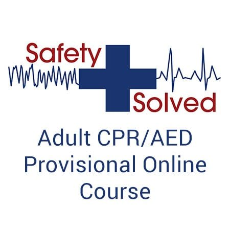 Adult CPR/AED Provisional Online Course
