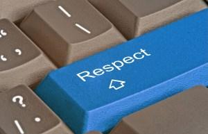 Respect: just a little bit