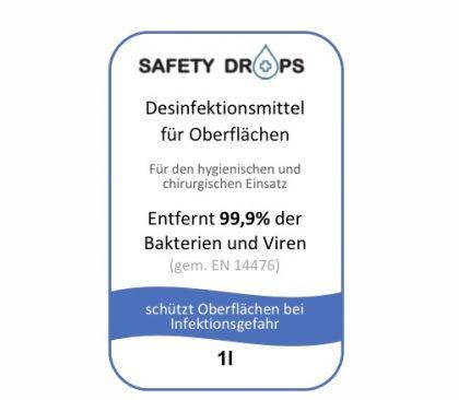 Safetydrops Label 6 Label 9