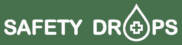Safetydrops Logo weiß