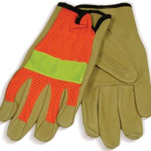 pigskin-orange-mesh-gloves