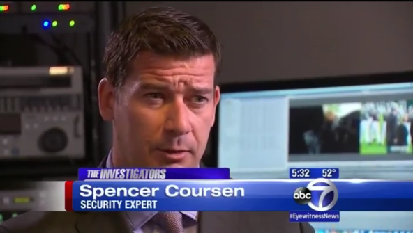 Security Expert Spencer Coursen on ABC7 News