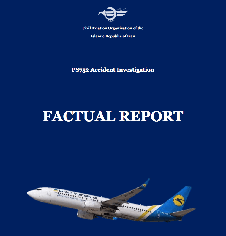 Factual report Ukraine B737