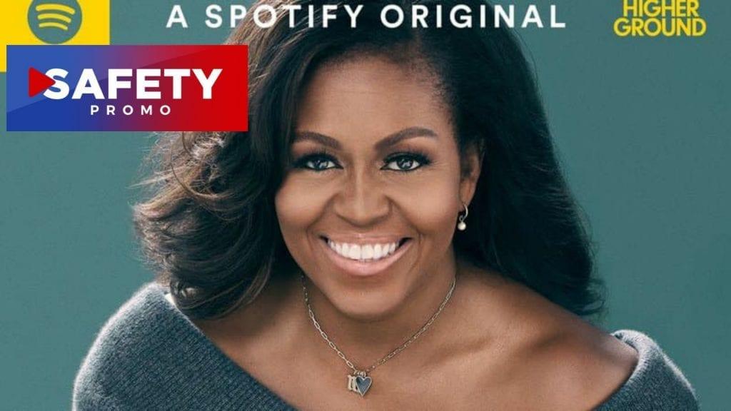 Michelle Obama va dévoiler son premier podcast le 29 juillet- SAFETY PROMO