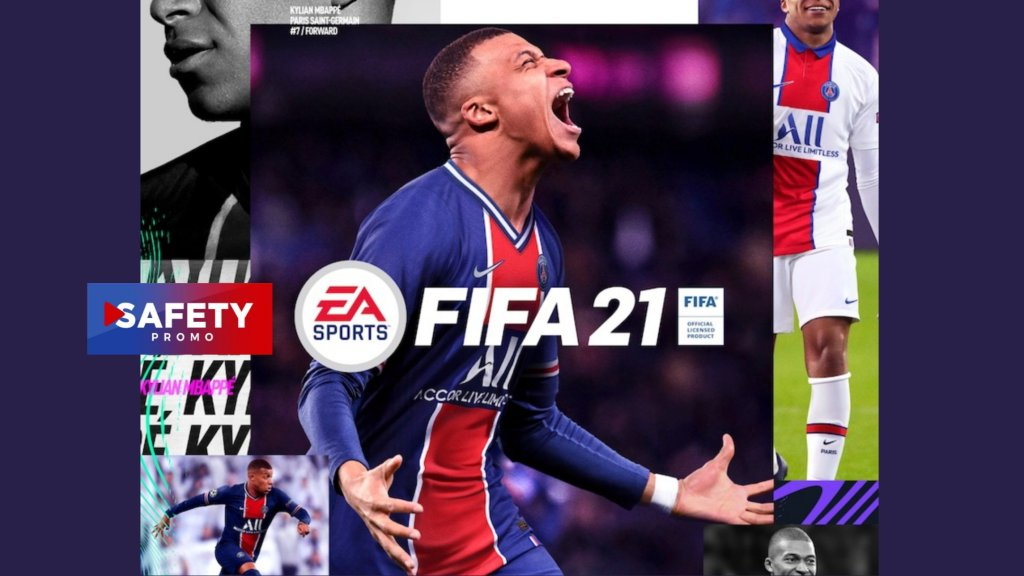 Kylian Mbappé sera la star de la jaquette de #FIFA21