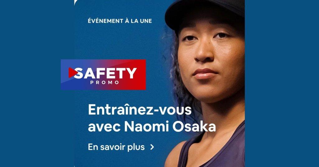 Naomi Osaka : associée avec Airbnb et le Olympics pour le Festival #Olympianexperience
