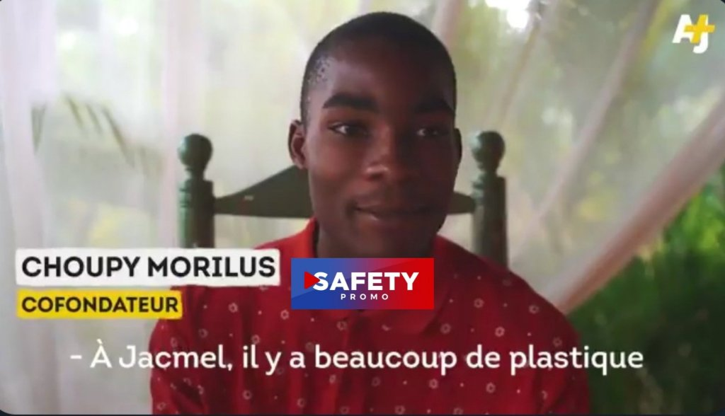 Ces trois jeunes Haïtiens ont trouvé une alternative au plastique
