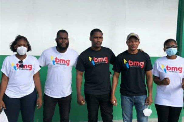 BMG fondation visite les patients de l'Hôpital de l'Université d'État d'Haïti pour son lancement