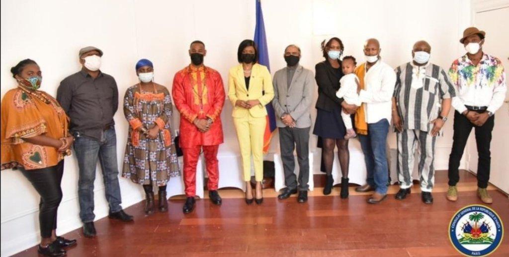 Le Consulat général d'Haïti à Paris promet d'accompagner le secteur vodou