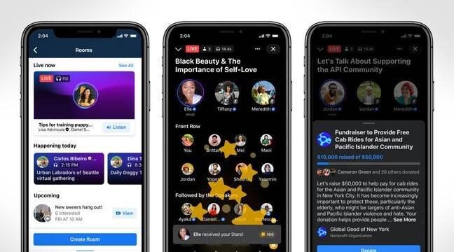 Facebook dévoile de nouveaux services audio