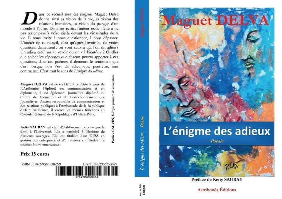 Maguet Delva « L'Énigme des adieux »
