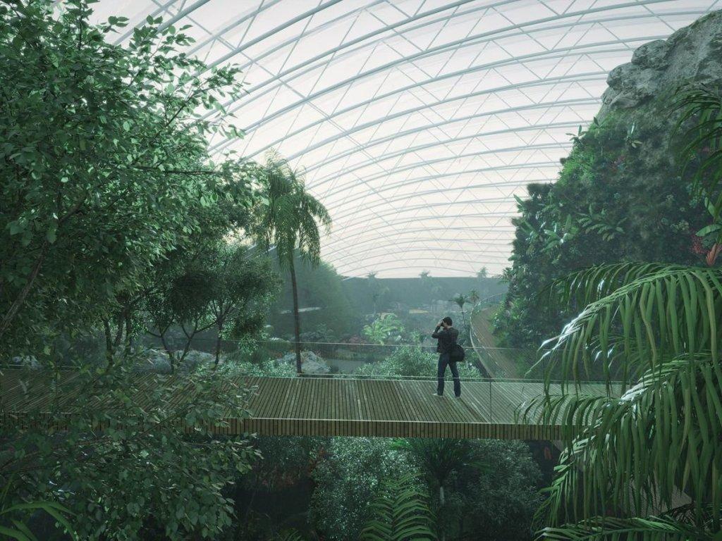 La France s'apprête à accueillir «Tropicalia», la plus grande serre tropicale du monde !