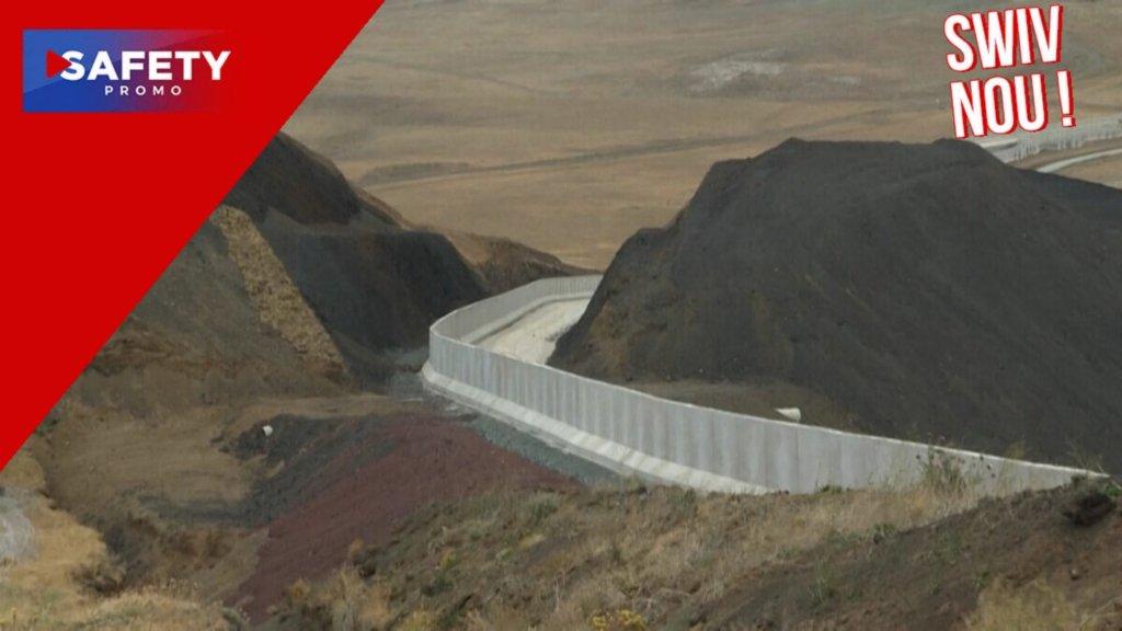Pour empêcher l'arrivée de réfugiés afghans, la Turquie construit un mur
