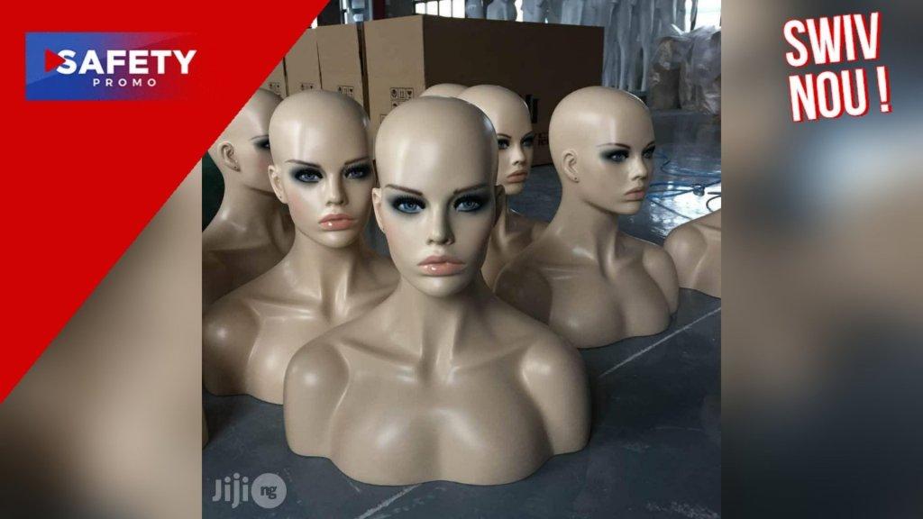 """l'État de Kano au Nigeria, interdit les têtes de mannequins pour """"des raisons islamiques"""""""