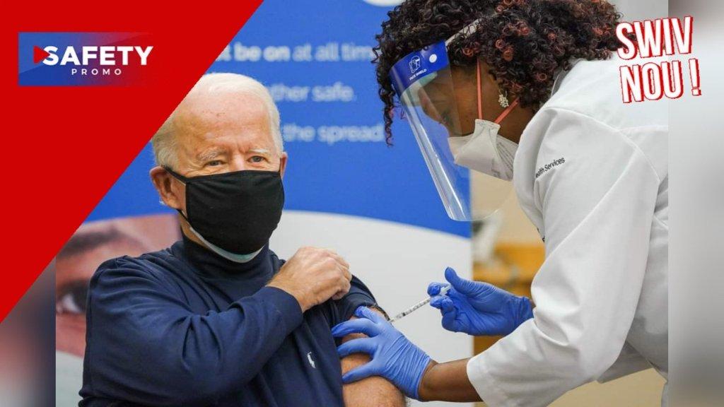 USA : Joe Biden va recevoir une troisième dose de vaccin