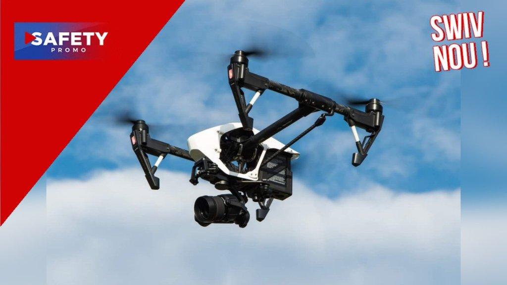 Des drones laser font pleuvoir à Dubaï