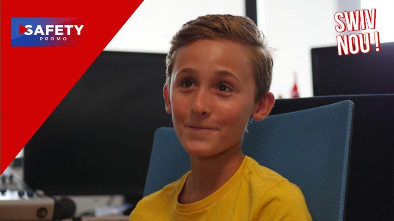 À 13 ans, Louan présente déjà des journaux télévisés !