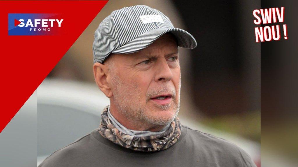 Bruce Willis, star d'une publicité russe… sans avoir à sortir de chez lui
