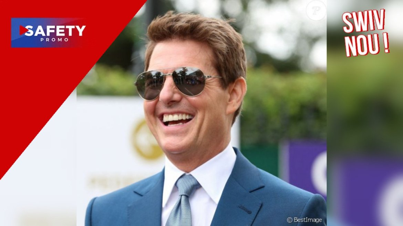 Tom Cruise atterrit, sans prévenir, en hélicoptère dans le jardin d'une famille britannique