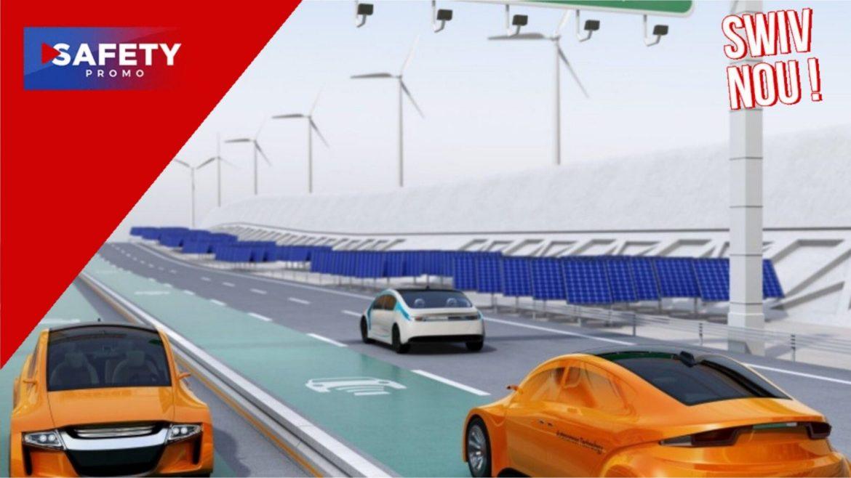 Une entreprise allemande fabrique du béton pour recharger les véhicules électriques sur les routes