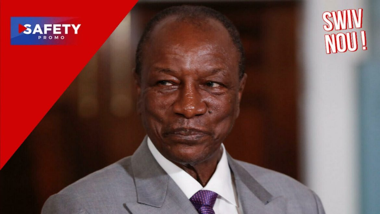 Guinée: coup d'État en cours, le président Alpha Condé arrêté