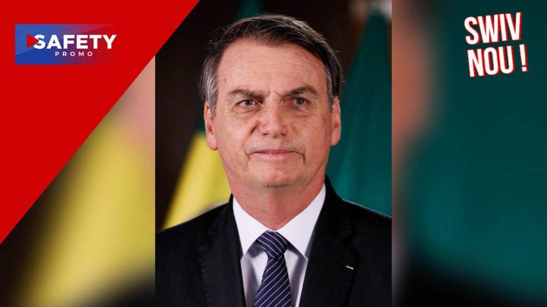 """Brésil : Jair Bolsonaro affirme que """"seul Dieu"""" peut le chasser du pouvoir"""