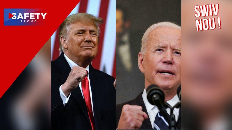 Donald Trump voudrait affronter Joe Biden lors d'un combat de boxe