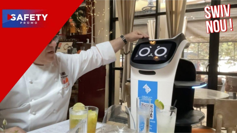 Etats-Unis : ce restaurateur met en place des robots faute de serveurs