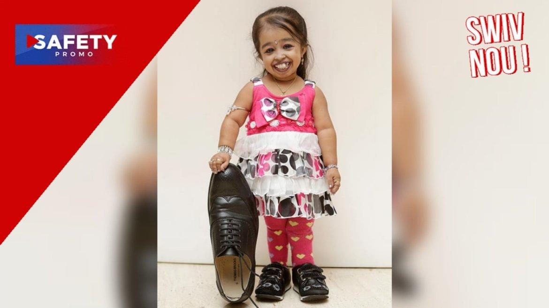 Jyoti Amge, la plus petite femme au monde