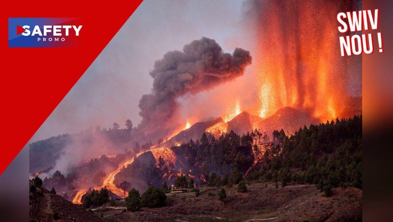 Espagne : un volcan de l'île de La Palma, aux Canaries, entre en éruption pour la première fois depuis cinquante ans